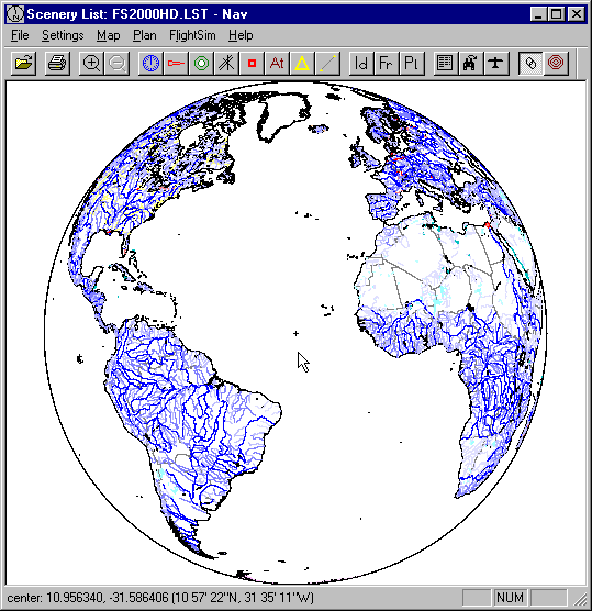 Globe generated by Nav